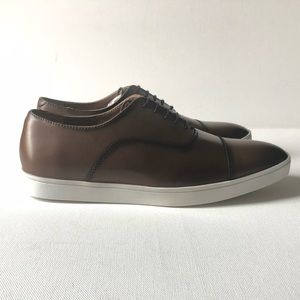 Zara Man Lace up shoes, Leather,New, size 6 US Men